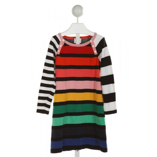 HANNA ANDERSSON  MULTI-COLOR  STRIPED  DRESS