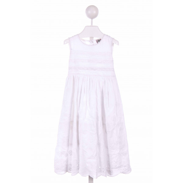 COTTON KIDS  WHITE    CASUAL DRESS