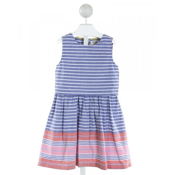 JOHNNIE-B  BLUE  STRIPED  DRESS
