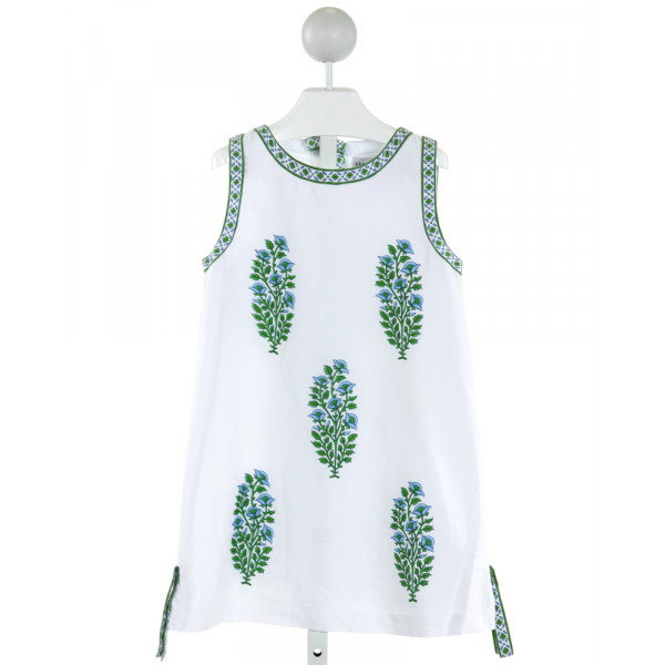 GRETCHEN SCOTT  WHITE   PRINTED DESIGN DRESS