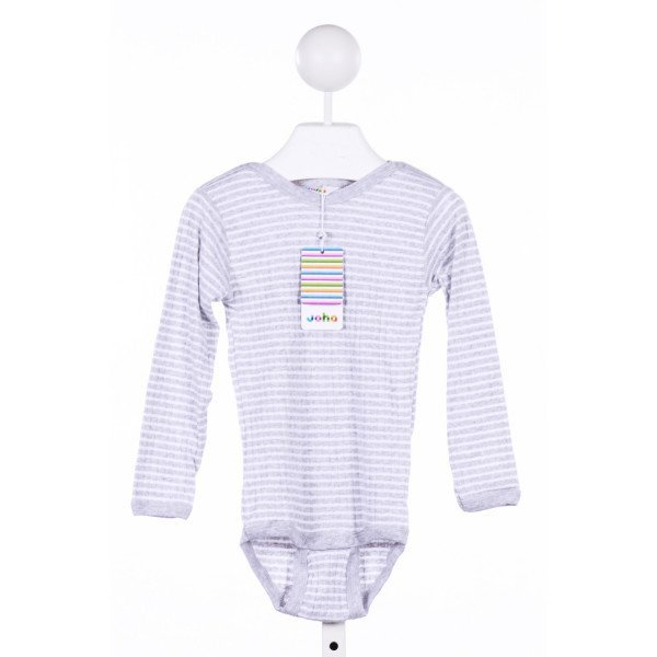 JOHA  GRAY  STRIPED  KNIT LS SHIRT