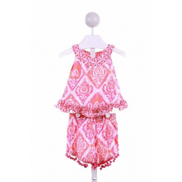 MASALA KIDS  PINK    2-PIECE OUTFIT WITH RUFFLE