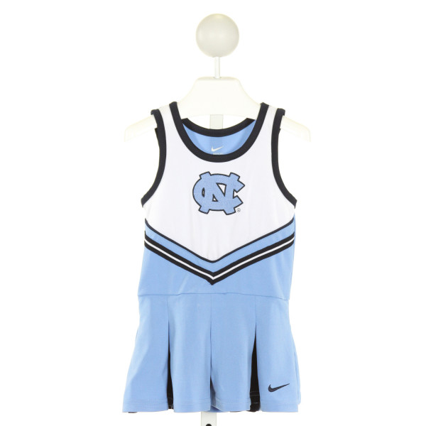NIKE  LT BLUE   EMBROIDERED COSTUME