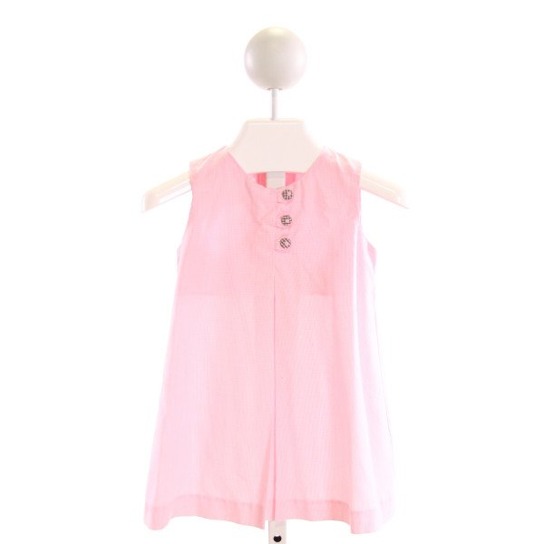 ZUCCINI  PINK  MICROCHECK  DRESS