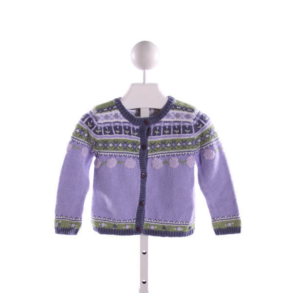 HARTSTRINGS  MULTI-COLOR   EMBROIDERED SWEATER