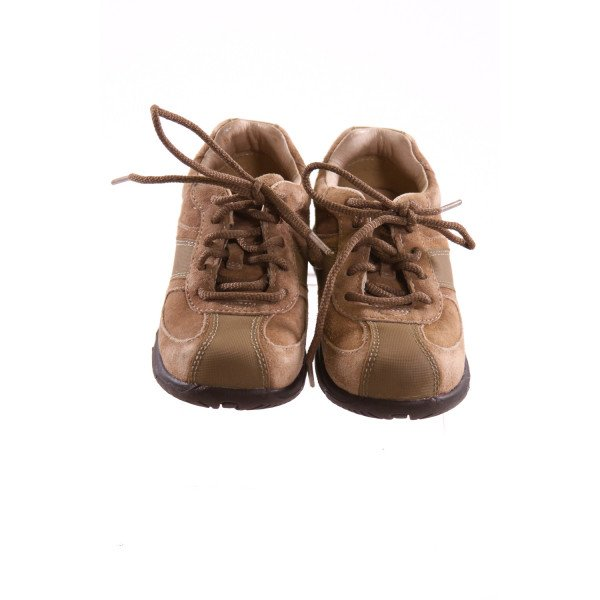 STRIDE RITE BROWN LEATHER SHOES *SIZE 9, VGU- VERY MINOR FADING AND DISCOLORATION