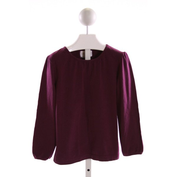 STRASBURG  PURPLE    KNIT LS SHIRT