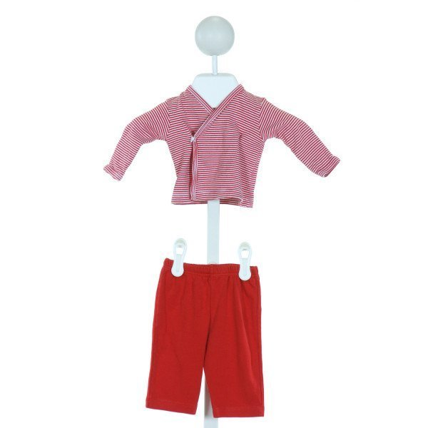 KISSY KISSY  RED  STRIPED  2-PIECE OUTFIT