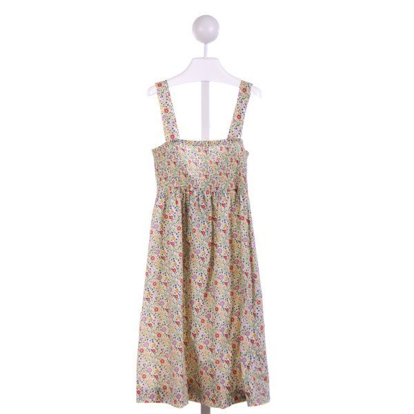 THEORY  OFF-WHITE  FLORAL  CASUAL DRESS