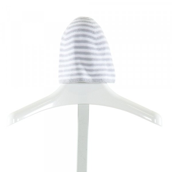 JACADI  GRAY  STRIPED  ACCESSORIES - HEADWEAR