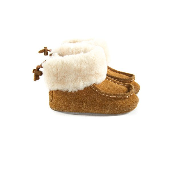 UGG BROWN BOOTS *SIZE TODDLER 4-5, VGU - LIGHT WEAR AND SCUFFING