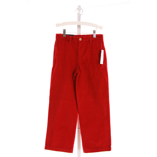 VINEYARD VINES  RED CORDUROY   PANTS