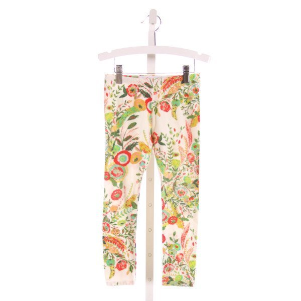 PETIT PEONY  MULTI-COLOR  FLORAL  PANTS