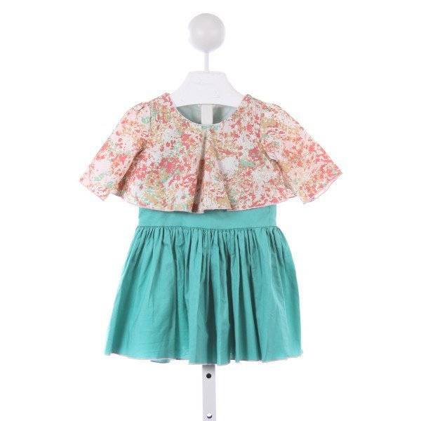 OLIVE MAE PINK AND MINT DRESS