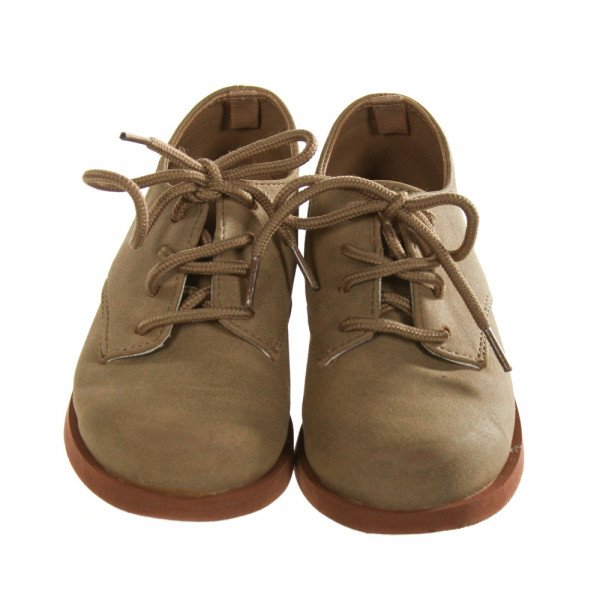 TRIMFOOT CO. BROWN SHOES *SIZE TODDLER 8, GUC - SCUFFING