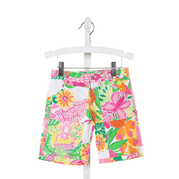 LILLY PULITZER  WHITE  FLORAL  SHORTS