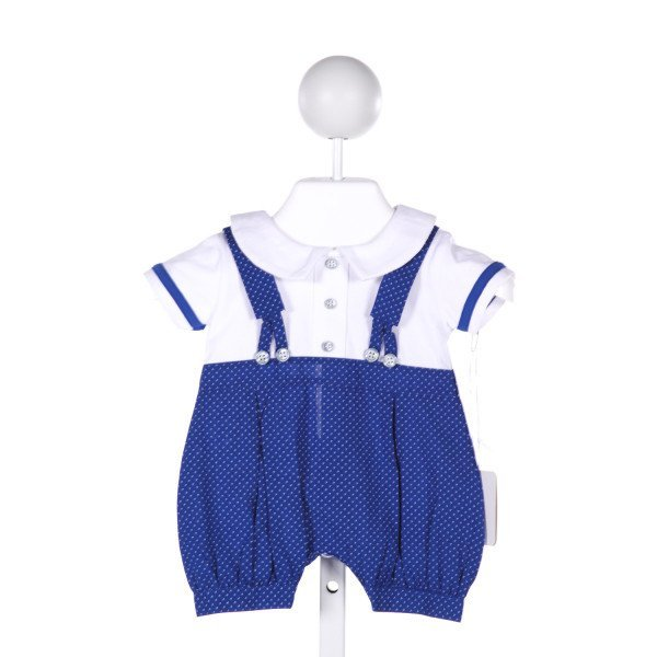 FUN & FUN NEW LIFE  ROYAL BLUE   PRINTED DESIGN JOHN JOHN/ SHORTALL