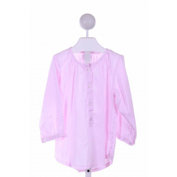 KATE & LIBBY  LT PINK    CLOTH LS SHIRT