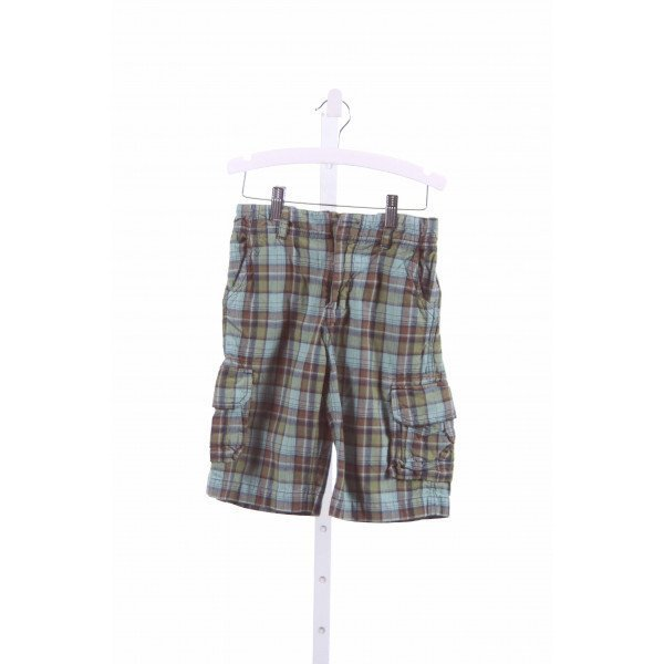 PEEK  GREEN  PLAID  SHORTS