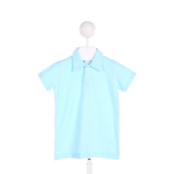 BABY CZ  LT BLUE    CLOTH SS SHIRT