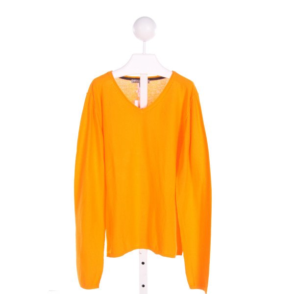 BONPOINT  ORANGE    KNIT LS SHIRT