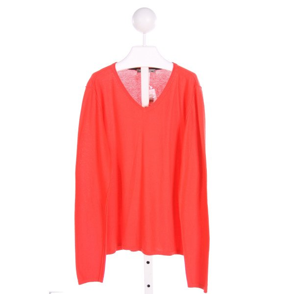 BONPOINT  RED    KNIT LS SHIRT
