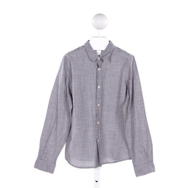 BONPOINT  BLACK  HOUNDSTOOTH  CLOTH LS SHIRT