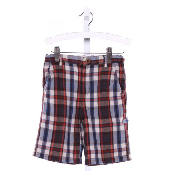 TUCKER & TATE  MULTI-COLOR COTTON PLAID  SHORTS