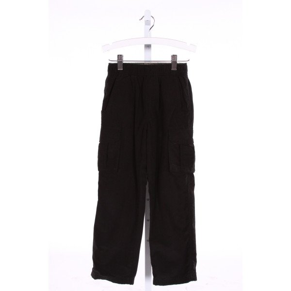 TUCKER & TATE  BLACK COTTON   PANTS