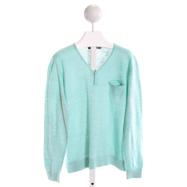 BONPOINT  AQUA    KNIT LS SHIRT