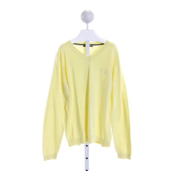 BONPOINT  PALE YELLOW    KNIT LS SHIRT