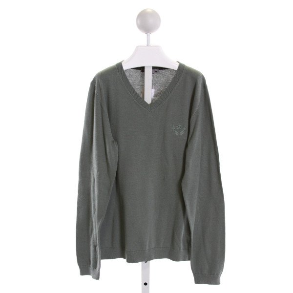 BONPOINT  GRAY    KNIT LS SHIRT