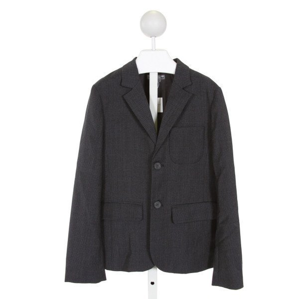 BONPOINT  NAVY  PLAID  BLAZER