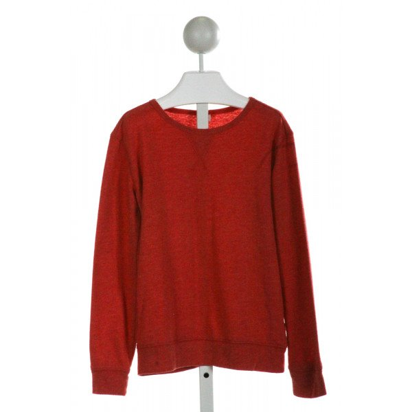 TUCKER & TATE  ORANGE    KNIT LS SHIRT