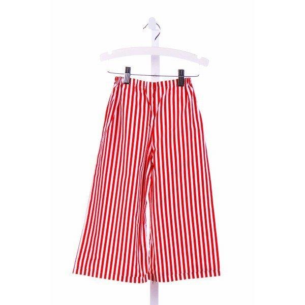 WHITNEY O'LONE  RED  STRIPED  PANTS