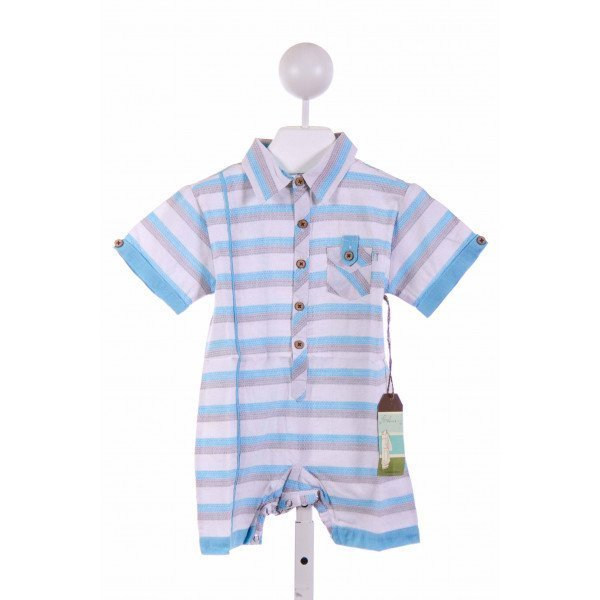 FORE!! AXEL & HUDSON  GRAY  STRIPED  SHORTALL