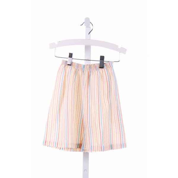 THE SMOCKLING  WHITE SEERSUCKER STRIPED  SHORTS