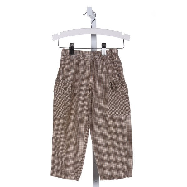 COTTON BLU  BROWN    PANTS