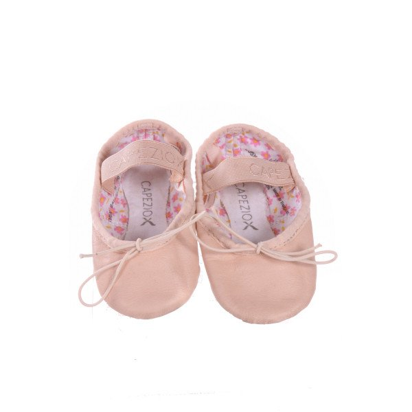 CAPEZIO PINK BALLET SHOES *SIZE 3, VGU - MINOR SCUFFING AND DISCOLORATION