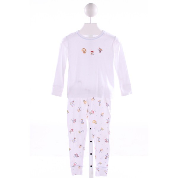 MAGNOLIA BABY  MULTI-COLOR  PRINT EMBROIDERED 2-PIECE OUTFIT