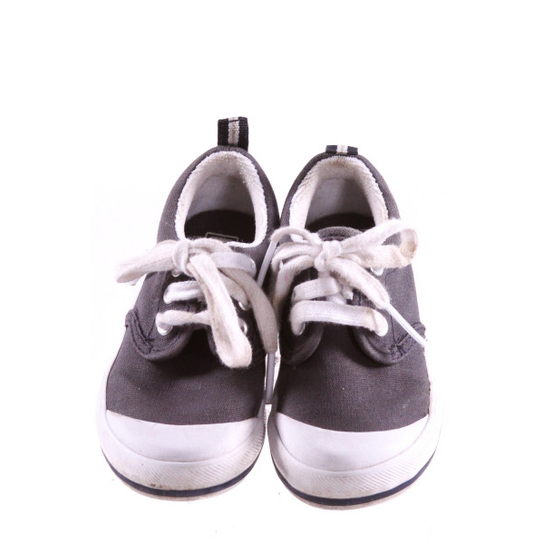KED GRAY SHOES *SIZE 5.5, VGU - DISCOLORATION