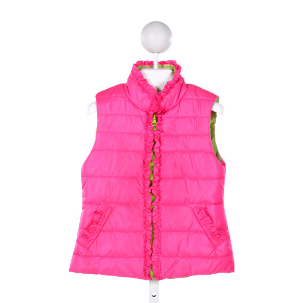 KATE MACK  MULTI-COLOR    VEST WITH RUFFLE