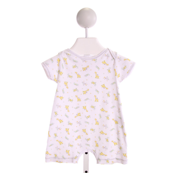 MAGNOLIA BABY  MULTI-COLOR   PRINTED DESIGN KNIT SHORTALL
