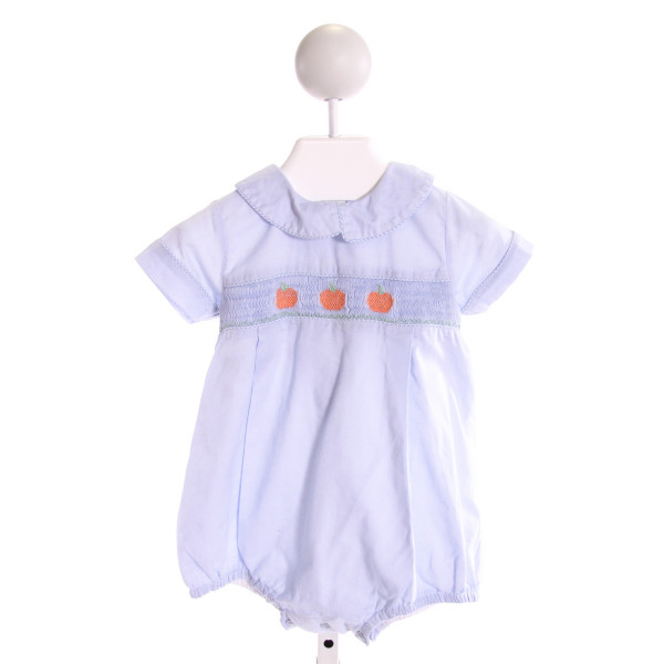 DONDOLO  LT BLUE   SMOCKED BUBBLE
