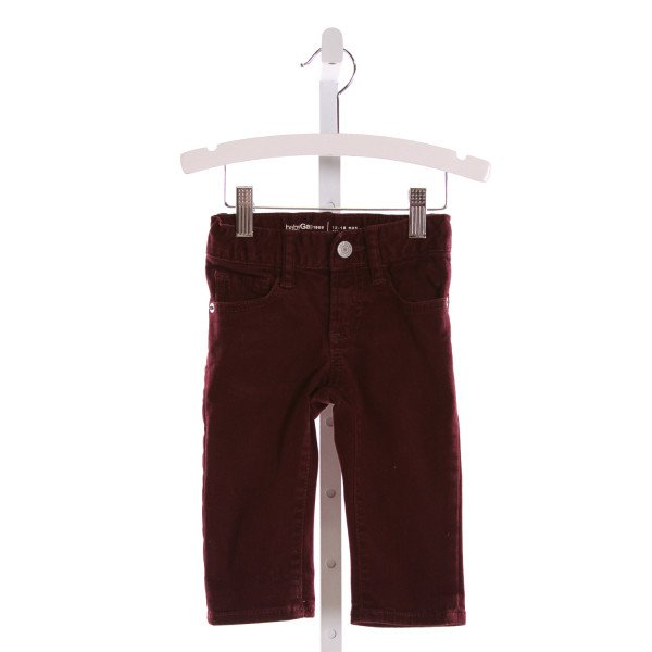 GAP  PURPLE    PANTS