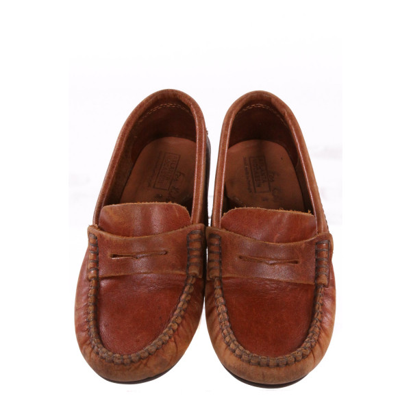 ATLANTA BROWN MOCCASINS *SIZE 13, GUC - DSICOLORATION AND WEAR