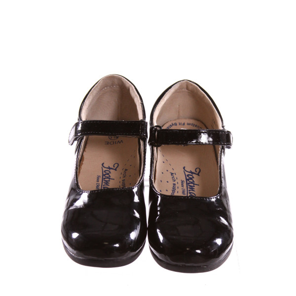 FOOTMATES BLACK SHOES *SIZE 12.5, VGU - A COUPLE SPOTS