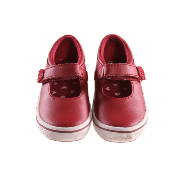 KEDS RED SHOES *SIZE 9, VGU - VERY MINOR DISCOLORATION