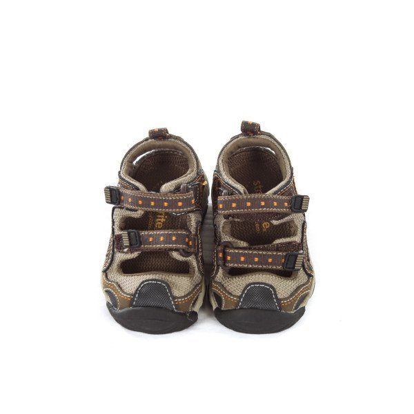 STRIDE RITE BROWN SANDALS TODDLER SIZE 4.5