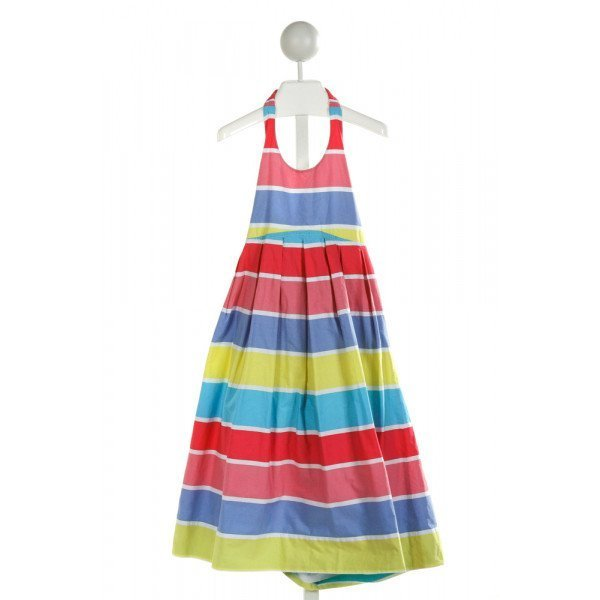 MINI BODEN  MULTI-COLOR  STRIPED  DRESS